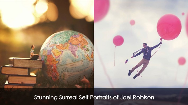 Stunning Surreal Self Portraits of Joel Robison