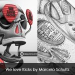 We love Kicks by Marcelo Schultz