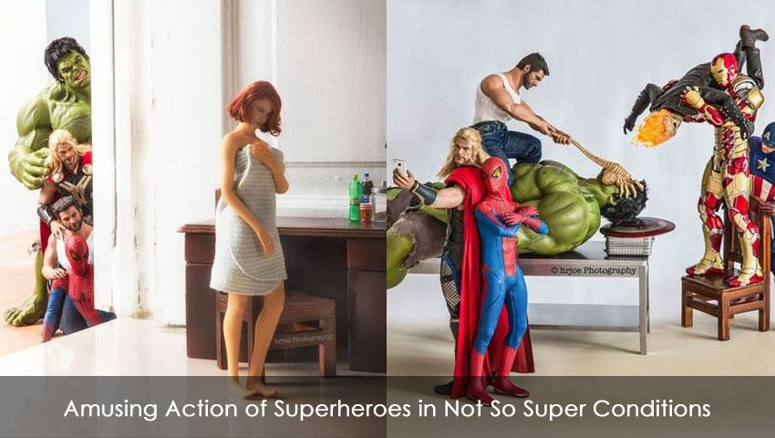 Superheroes in Not So Super Conditions
