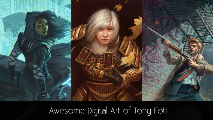 Awesome Digital Art of Tony Foti