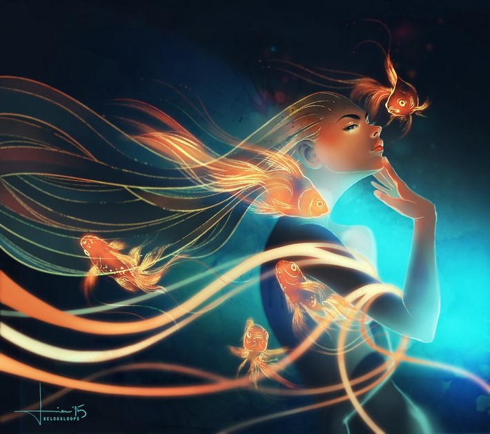 Beautiful-Digital-Art-and-Illustration-of-Kelogsloops