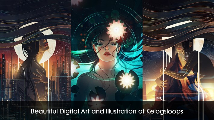 Beautiful Digital Art and Illustration of Kelogsloops