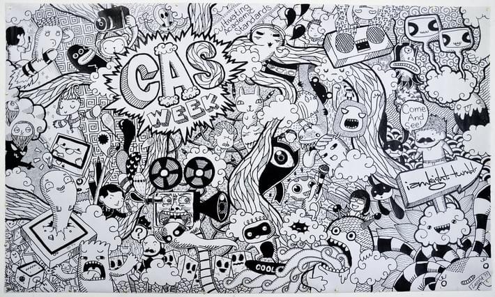 Creative Doodle Art Of Lei Melendres