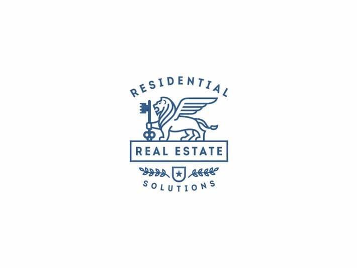 Minimal Real Estate Logo Design