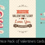 Nice Pack of Valentine's Cards