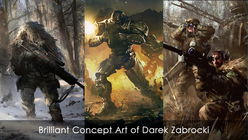 Brilliant Concept Art of Darek Zabrocki