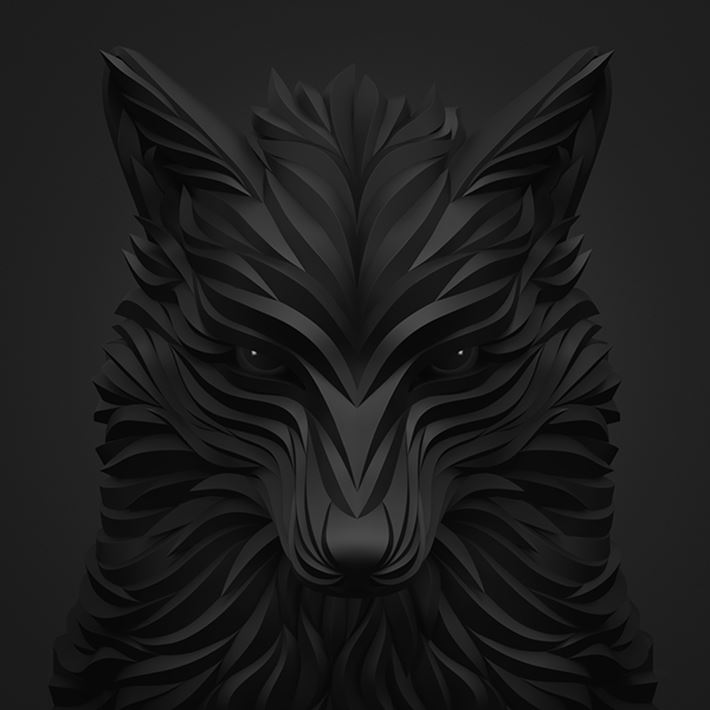 Brilliant-Digital-Art-Wolf-and-Hoof-by-Maxim-Shkret