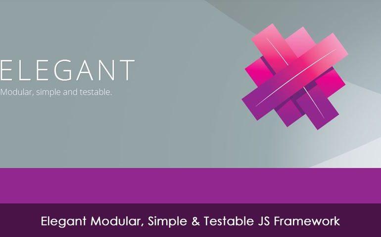Elegant Modular, Simple & Testable JS Framework