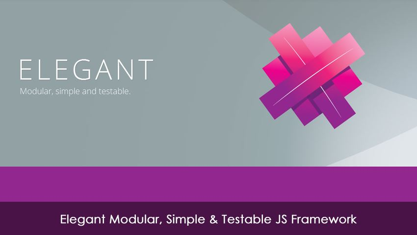 Elegant Modular, Simple & Testable JS Framework