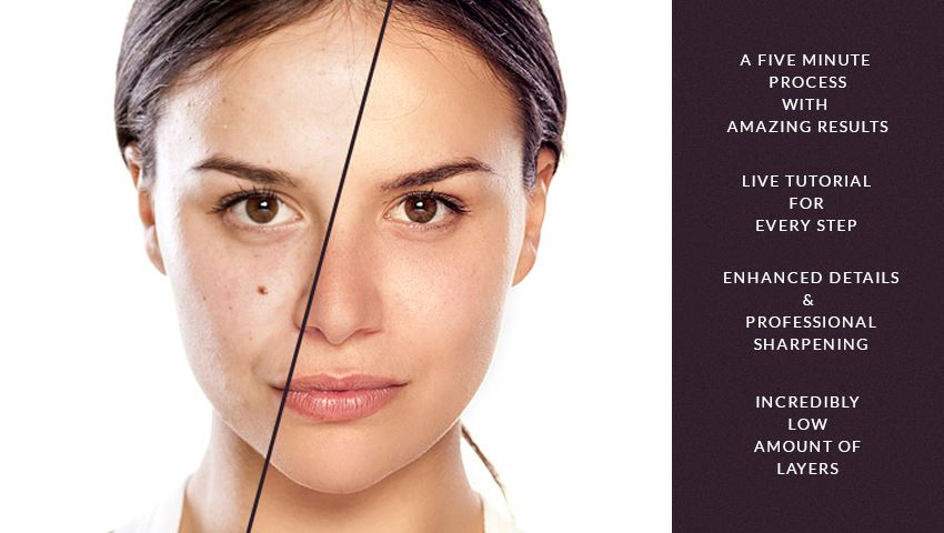 Get Amazing Results with these Easy Peasy Natural Skin PS Actions