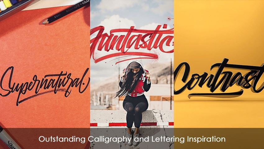 Outstanding Calligraphy and Lettering Inspiration by David Milan 1