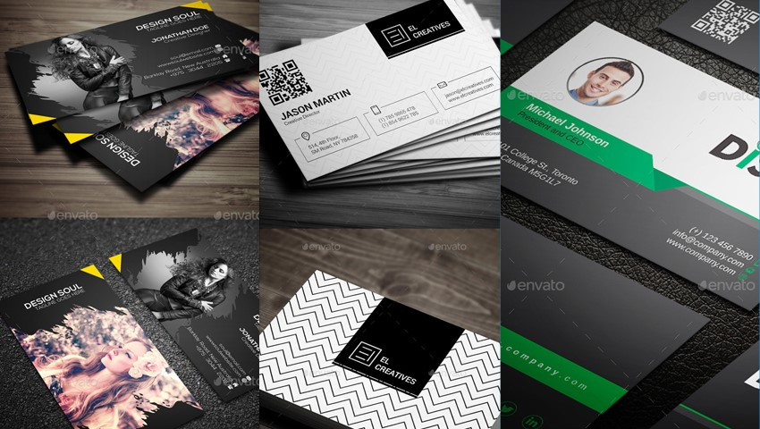 10 best business card design ideas reheart Image collections