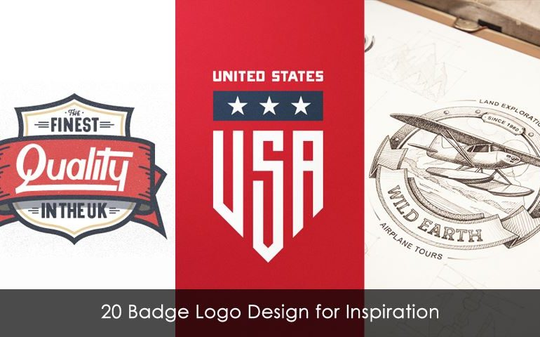 20 Badge Logo Design for Inspiration