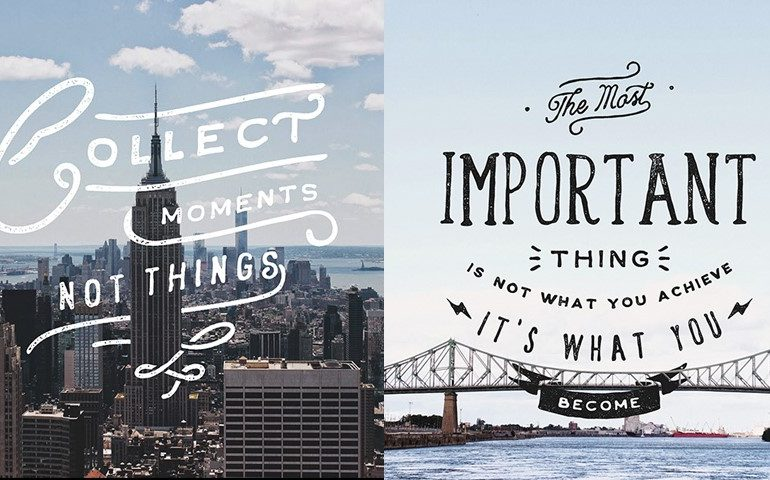 Collection of Lettering Set by Noel Shiveley