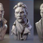Fantastic Digital Sculptures