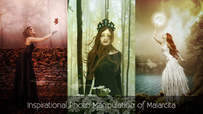 Inspirational Photo Manipulation of Maiarcita