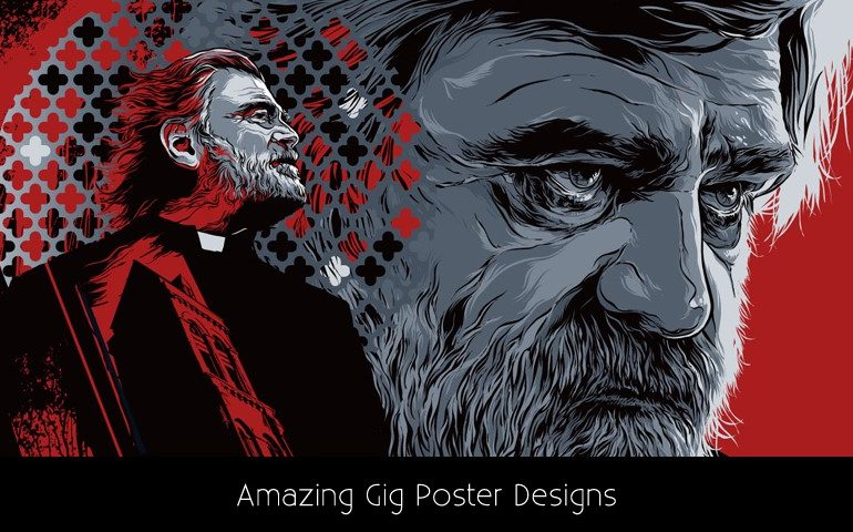 Amazing Gig Poster Designs