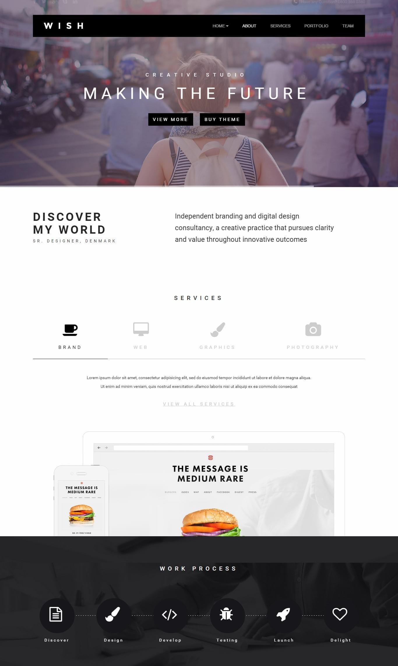 HTML5 Premium Templates