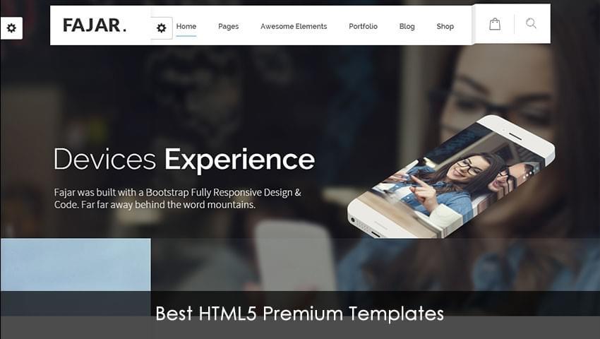 Best HTML5 Premium Templates