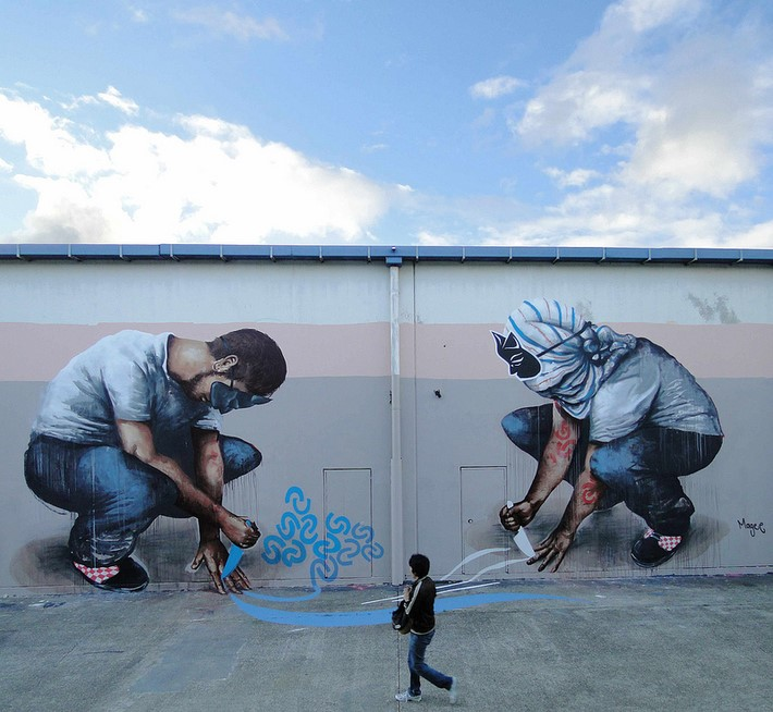 Street Art of Fintan Magee