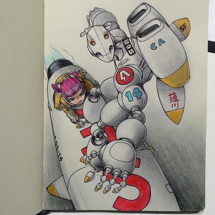 Fantastic Moleskine Sketches 6