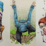 Fantastic Moleskine Sketches 6