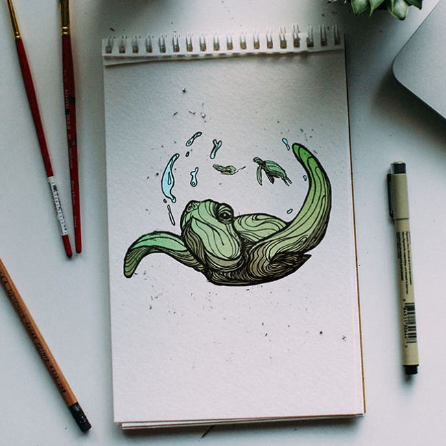 Brilliant-Animal-Alphabet-Illustrations