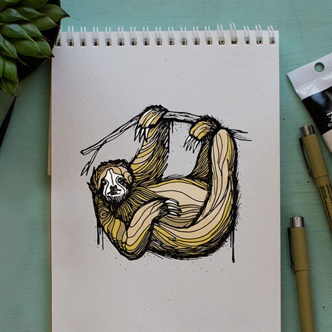 Brilliant Animal Alphabet Illustrations