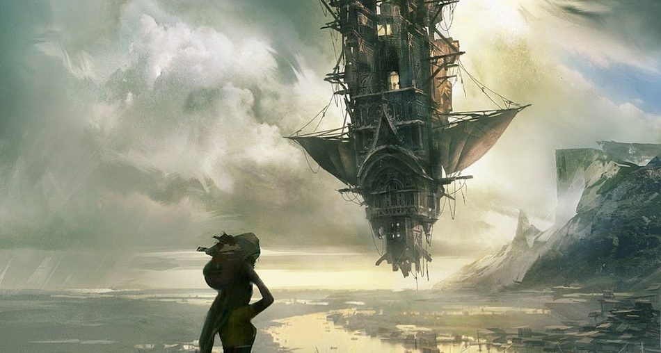 Creative Sci-fi Art New World Coming