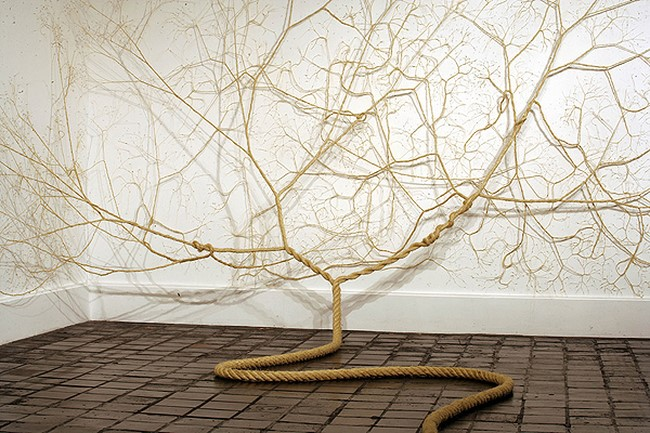 Untwisted-Ropes-Sculptures