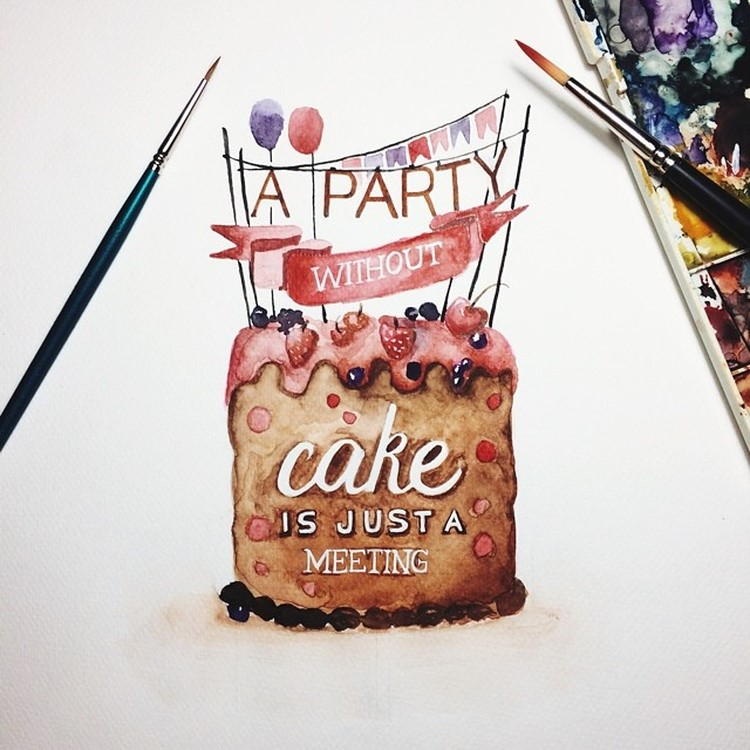 Watercolor Lettering Quotes