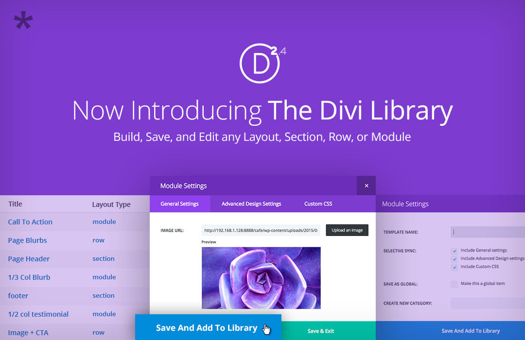 The Divi Library