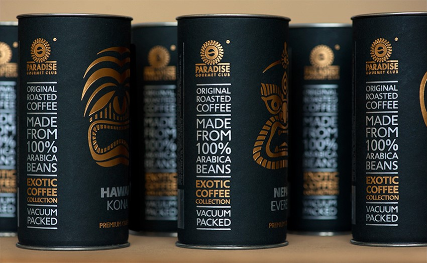 Awesome coffee packaging design