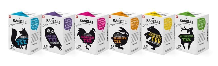 Tea packaging designs