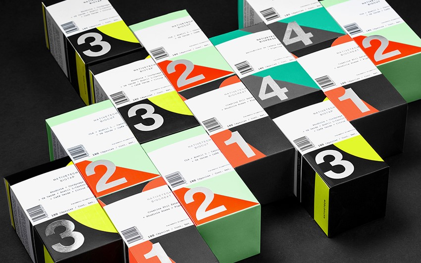 Nativetech Sports Nutrition Supplements Packaging Design