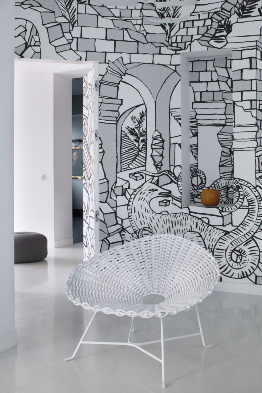 Creative-Wall-Mural-that-Enhanced-Your-Apartment-Interior-002