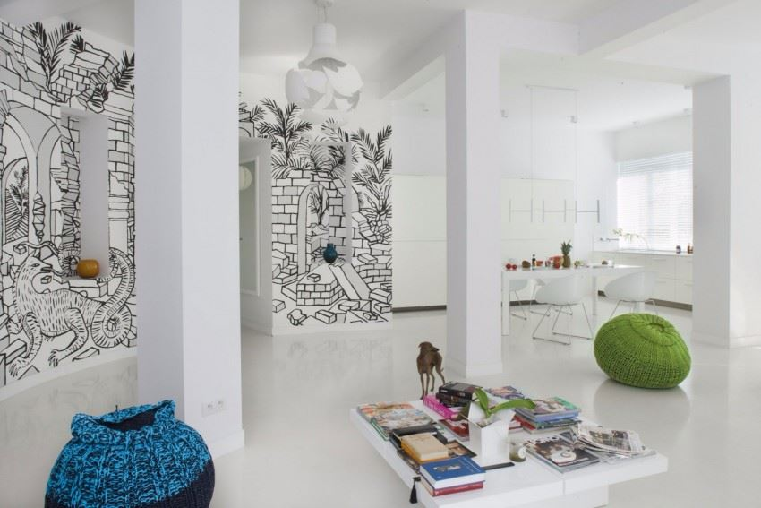 Creative-Wall-Mural-that-Enhanced-Your-Apartment-Interior-003