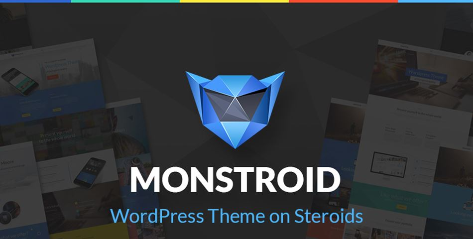 Monstroid: The WordPress Theme on Steroids