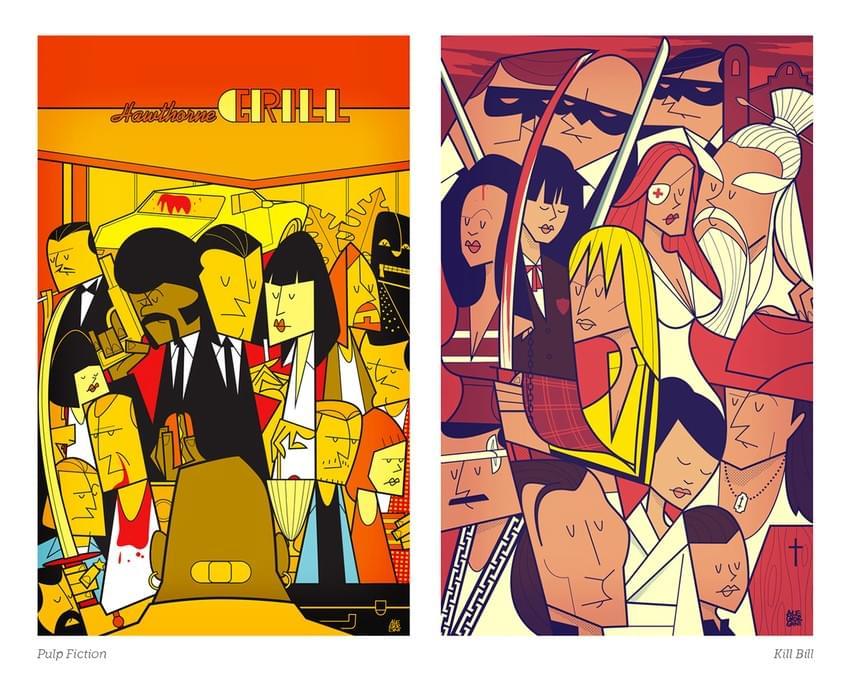 Movie-Illustration-Posters