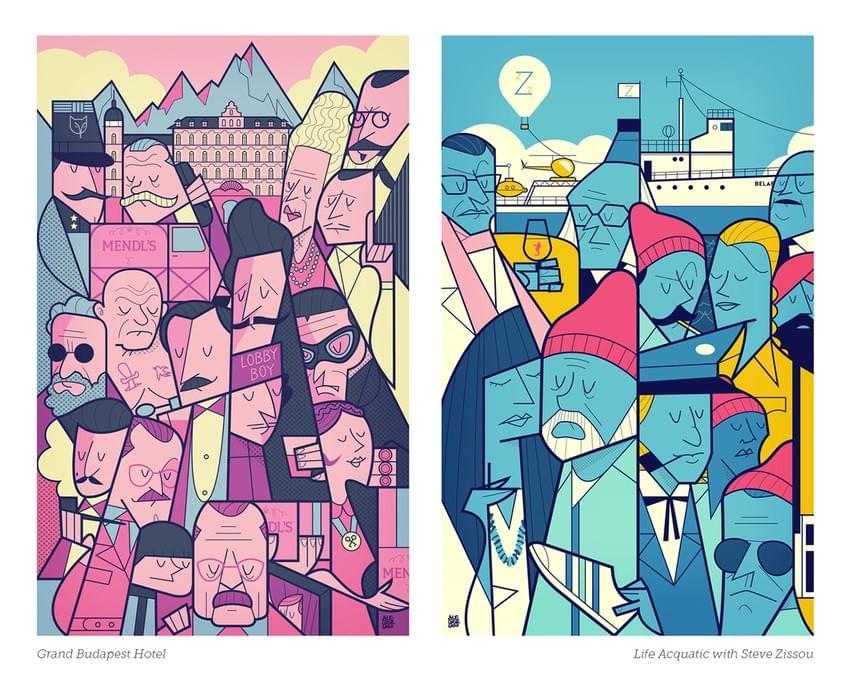 Movie Illustration Posters