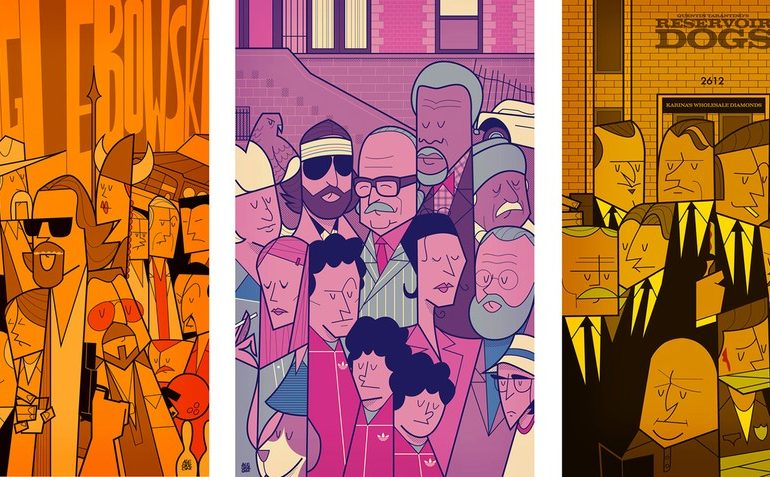 Movie Illustration Posters