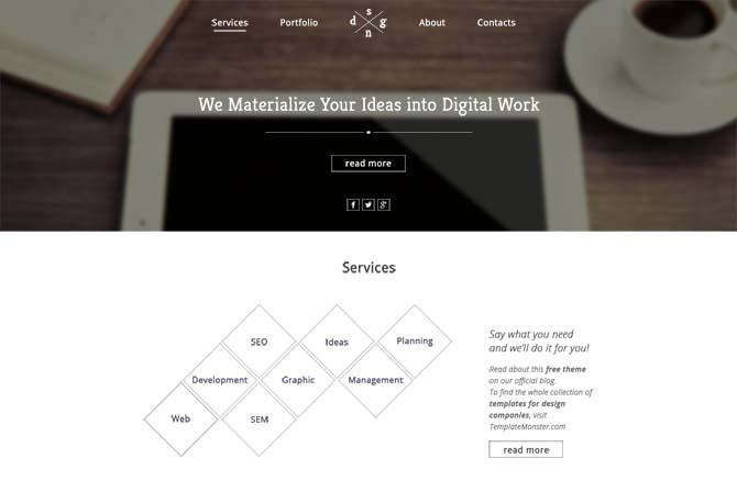 Free HTML5 CSS3 Website Templates