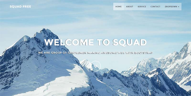website templates html5 css3 free download
