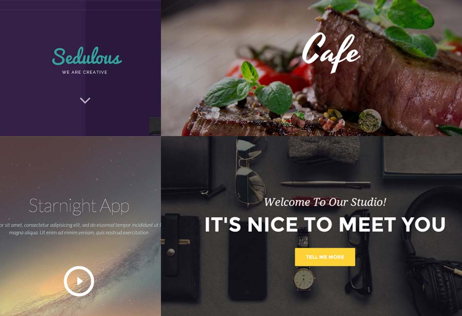 20 Most Beautiful Free HTML5 and CSS3 Website Templates