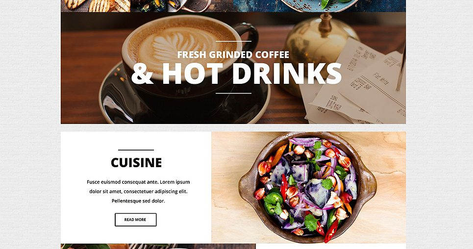 Gulliver Modern Cafe and Restaurant WordPress Theme