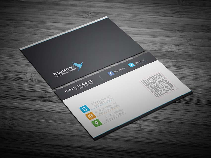 Download Clean & Creative Business Card