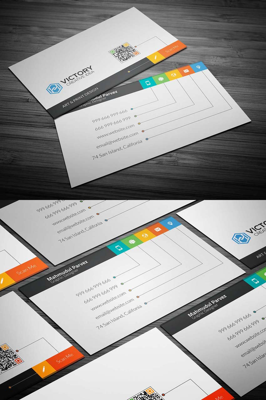 Free Printable Templates For Business Cards - Free business cards templates photoshop