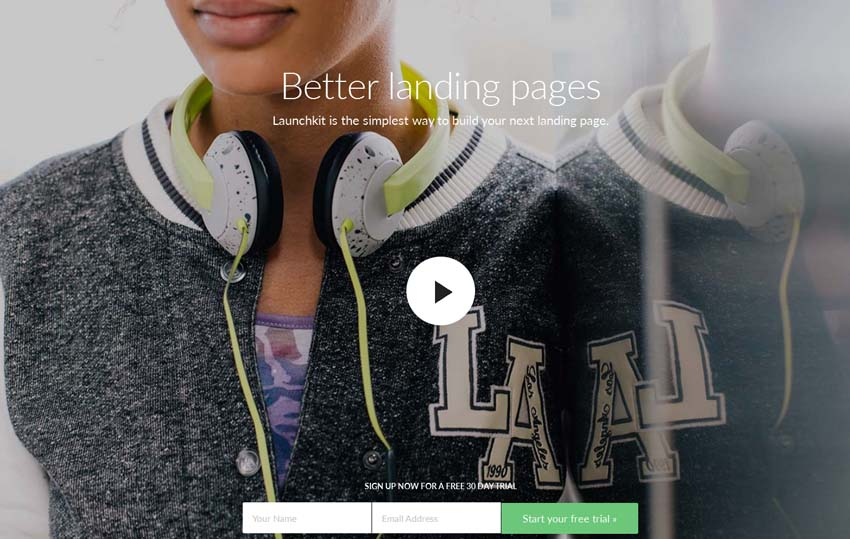 Launchkit - Multi-purpose Landing Page Template