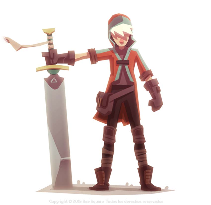 Game Character Concept Design : Video game character design collection by zinkase