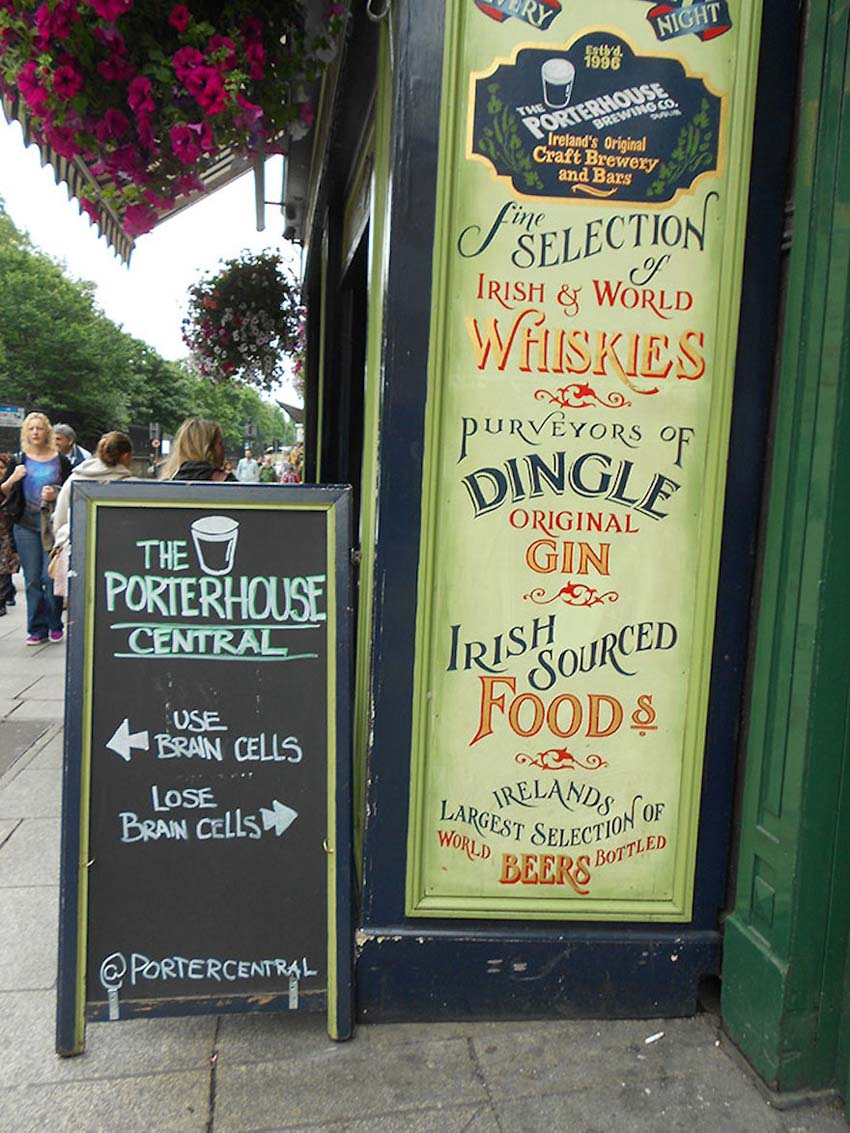 Bar and Cafe Chalkboard Signs